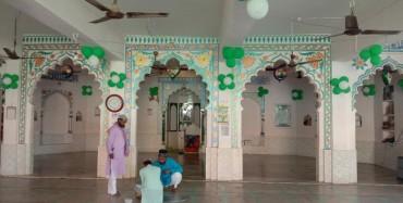 महुआडांड़ : ईद-उल-मिलादुन्नबी पूरी सादगी के साथ मनायी गई