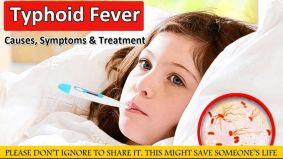 Typhoid Fever होने की मुख्य वजह दूषित भोजन और जल